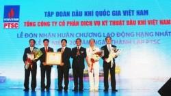 PTSC đón nhận Huân chương Lao động hạng Nhất