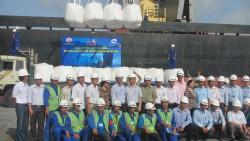 Xuất khẩu chuyến hàng Alumina đầu tiên