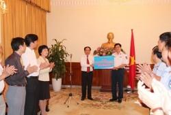 PetroVietnam ủng hộ lực lượng Cảnh sát biển và Kiểm ngư Việt Nam