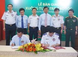 PVFCCo bàn giao xuồng tuần tra cao tốc cho Cảnh sát biển Việt Nam