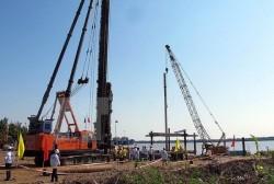 Động thổ bến nhập thiết bị dự án nhiệt điện Long Phú 1