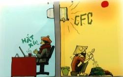 Trao giải cuộc thi Vẽ tranh biếm họa về tiết kiệm điện