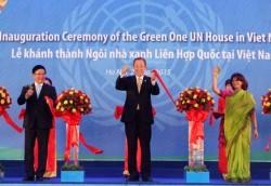 Ngôi nhà Xanh của Liên hợp quốc tại VN đi vào hoạt động