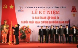 PC Hưng Yên đón nhận Huân chương Lao động hạng Nhất