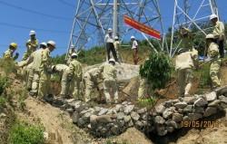 Để dòng điện vận hành an toàn trong mùa mưa bão