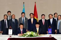 PVN và KazMunaiGaz ký thỏa thuận hợp tác dầu khí