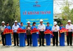 Khánh thành công trình cấp điện cho ấp Thiềng Liềng