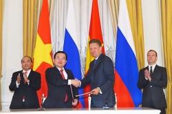 Việt - Nga mở rộng hợp tác trong lĩnh vực dầu khí