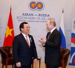 Tổng thống Nga tặng Huân chương Hữu nghị cho Chủ tịch PVN