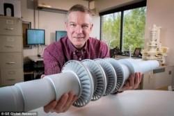 CO2: Tuabin nhỏ cho công suất điện lớn