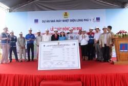 Phát động thi đua tại Dự án Nhiệt điện Long Phú 1