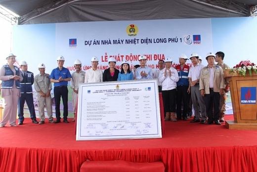 Phát động thi đua tại Dự án Nhiệt điện Long Phú 1 1