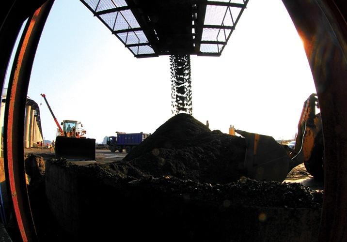 Khai thác tấn than đầu tiên Dự án mỏ hầm lò Núi Béo