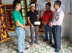 PVFCCo hỗ trợ thân nhân các nạn nhân tai nạn xe tại Chư Sê