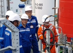 Lọc hóa dầu Nghi Sơn xuất lô sản phẩm đầu tiên