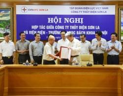 Thủy điện Sơn La và Đại học Bách khoa Hà Nội ký hợp tác