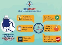 EVNHANOI phát triển kênh thanh toán tiền điện qua ngân hàng