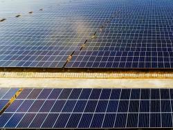 Chuẩn bị khánh thành Nhà máy điện mặt trời Sông Giang