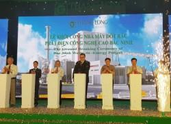 Khởi công dự án đốt rác phát điện công nghệ cao tại Bắc Ninh