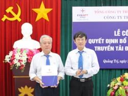 Bổ nhiệm Giám đốc Truyền tải điện Quảng Trị