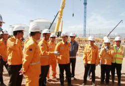Tiến độ triển khai các dự án trọng điểm của PV GAS