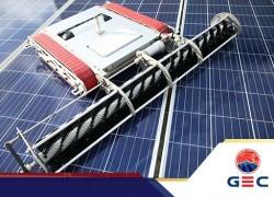 GEC Robot: Giải pháp vệ sinh tấm pin năng lượng mặt trời hiệu quả