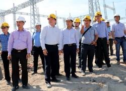 Đôn đốc tiến độ TBA 220 kV Ninh Phước và đường dây đấu nối