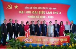Khai mạc Đại hội Đại biểu Đảng bộ PV GAS lần X, nhiệm kỳ 2020-2025