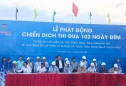 Thi đua hoàn thành dự án điện mặt trời Trung Nam-Thuận Nam và lưới truyền tải