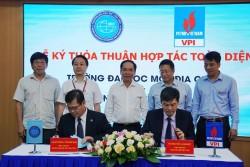 VPI ký thỏa thuận hợp tác toàn diện với Đại học Mỏ - Địa chất