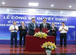 Công bố quyết định bổ nhiệm Chủ tịch kiêm Giám đốc PC Hải Dương