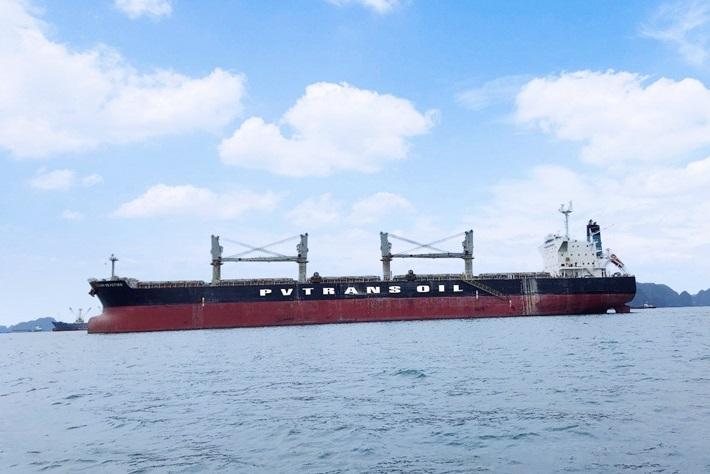 PVTrans Oil tiếp nhận tàu PVT DIAMOND
