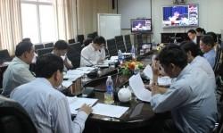 Hội nghị trực tuyến công tác kinh doanh và dịch vụ khách hàng EVNCPC