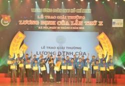 PVFCCo đồng hành cùng Giải thưởng Lương Định Của