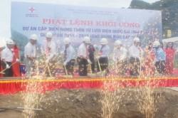 Khởi công dự án cấp điện nông thôn tại Nghệ An