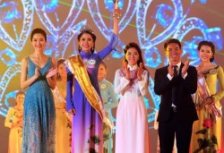 Người đẹp Tiền Giang đăng quang Hoa khôi ĐBS Cửu Long
