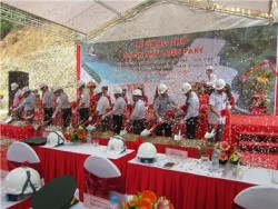 Sông Đà 9 khởi công dự án thủy điện 26MW