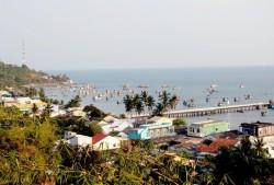 Ứng vốn đầu tư điện lưới quốc gia cho xã đảo Sơn Hải