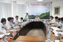 Phó Tổng giám đốc EVN Ngô Sơn Hải làm việc với PTC2