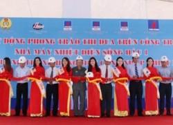 Khánh thành Cảng nhập thiết bị TT Điện lực Sông Hậu