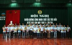 Mỏ hầm lò II-TKV tuyên dương công nhân xuất sắc