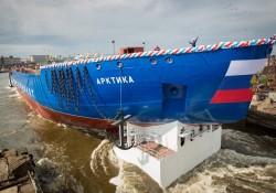 ROSATOM hạ thủy tàu phá băng mạnh nhất thế giới