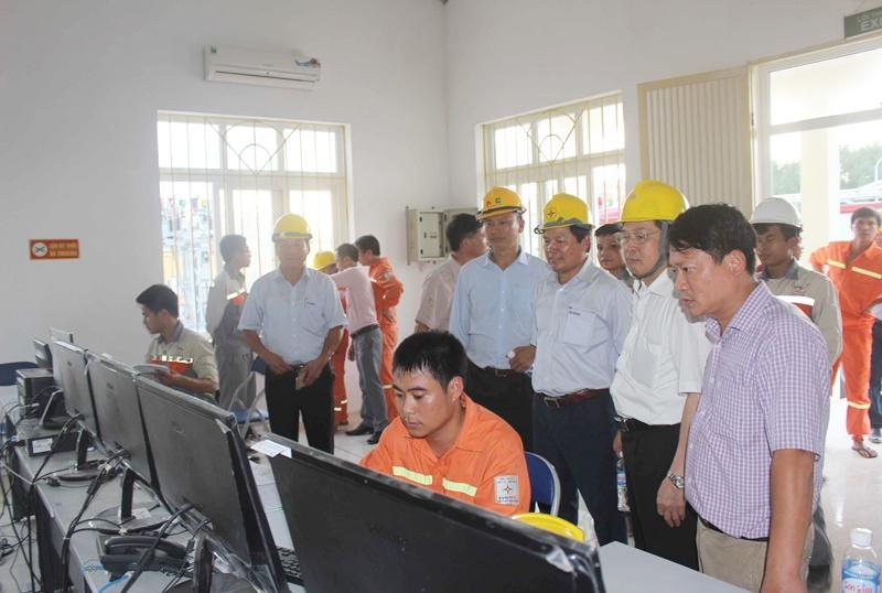 NPC đóng điện trạm biến áp 110kV không người trực tại Hà Tĩnh 1
