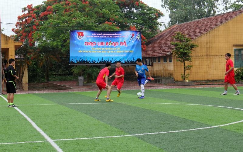 Đoàn thanh niên than Quảng Ninh giao lưu bóng đá 2