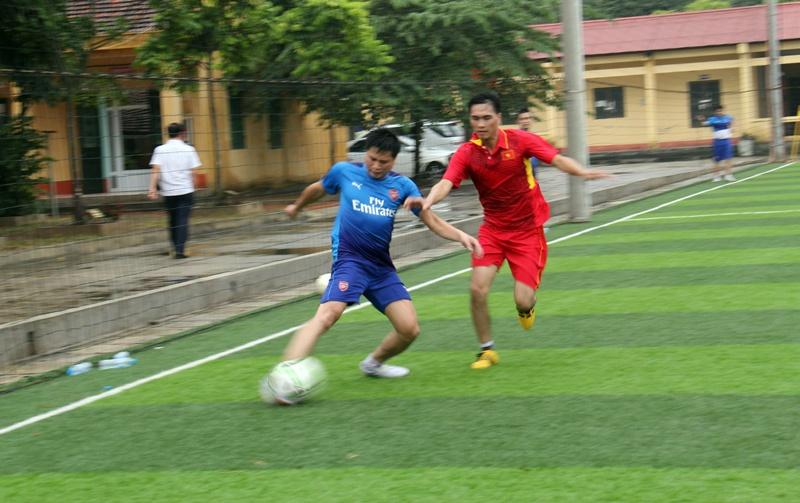Đoàn thanh niên than Quảng Ninh giao lưu bóng đá 4