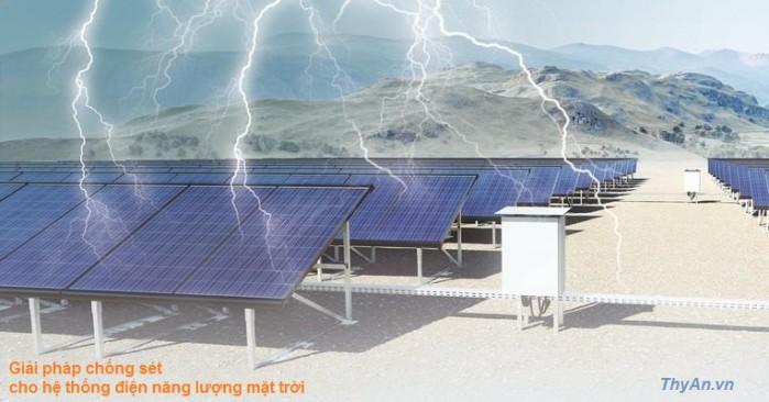 Giải pháp chống sét cho hệ thống điện mặt trời 1
