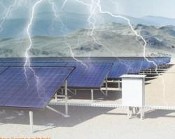 Giải pháp chống sét cho hệ thống điện mặt trời