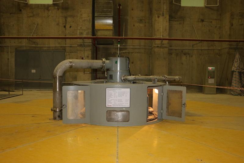Tổ máy cuối cùng của Thủy điện Trung Sơn phát điện 1