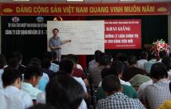 TKV khai mạc lớp lý luận chính trị cho đảng viên mới