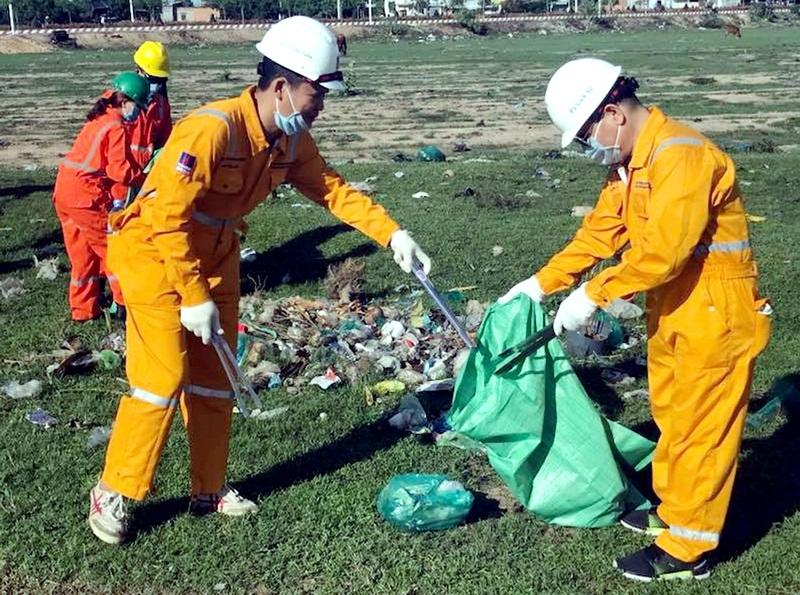 """PV GAS với chương trình """"Nông thôn không rác"""" tại Vũng Tàu 2"""